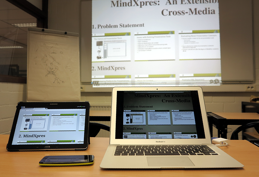 MindXpres Presentation Mirroring Plug-in